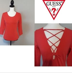Guess top size L